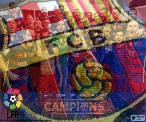 Rompicapo di FC Barcelona, campione 2015-16