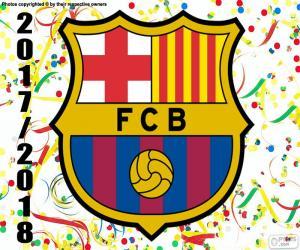 Rompicapo di FC Barcelona, campione del 2017-18