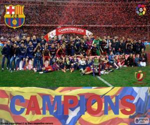 Rompicapo di FC Barcelona Copa del Rey 15-16