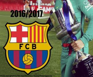 Rompicapo di FC Barcelona Copa del Rey 2016-17