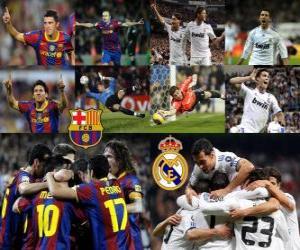 Rompicapo di FC Barcelona VS Real Madrid, 2010-11