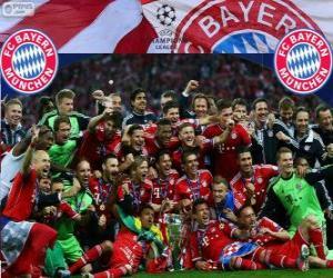 Rompicapo di FC Bayern Monaco, campione del 2013 UEFA Champions League