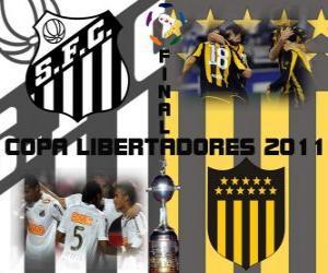 Rompicapo di FC Santos - Montevideo Peñarol. Finale Copa Libertadores 2011