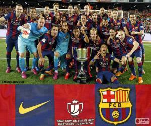 Rompicapo di FCBarcellona Copa del Rey 14-15