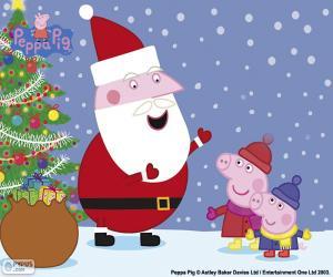 Rompicapo di Felice Natale Peppa