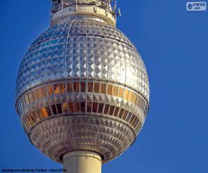 Rompicapo di Fernsehturm di Berlino