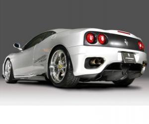 Rompicapo di Ferrari 360 Modena