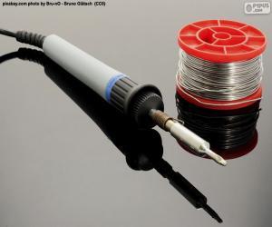 Rompicapo di Ferro da saldatura elettrico stagno
