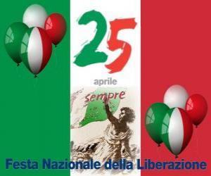 Rompicapo di Festa della Liberazione, festa nazionale italiana celebrata il 25 aprile