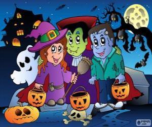 Rompicapo di Festa di Halloween