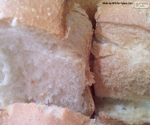 Rompicapo di Fette di pane bianco