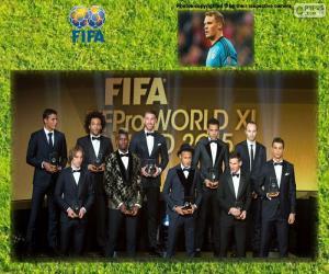 Rompicapo di FIFA/FIFPro World XI 2015
