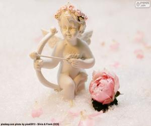 Rompicapo di Figura di Cupido con arco