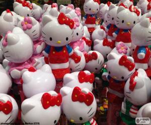 Rompicapo di Figure di Hello Kitty