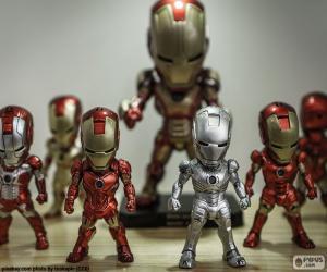 Rompicapo di Figure di Iron Man