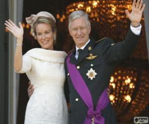 Rompicapo di Filippo e Mathilde nuovo re del Belgio (2013)