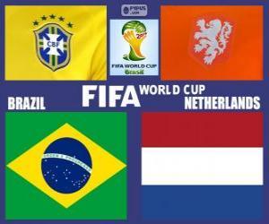 Rompicapo di Finale 3º posto, Brasile 2014, Brasile vs Olanda