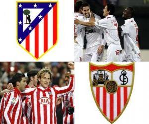 Rompicapo di Finale Copa del Rey 09-10, Atlético de Madrid - FC Sevilla