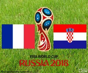 Rompicapo di Finale Coppa del mondo FIFA Russia 2018