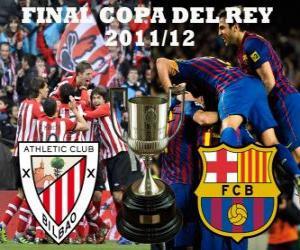 Rompicapo di Finale di Coppa del re 2011-12, Athletic Club Bilbao - FC Barcelona