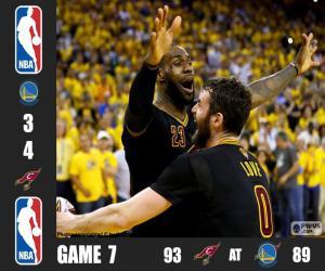 Rompicapo di Finale NBA 16, gara 7
