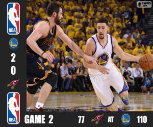 Rompicapo di Finale NBA 2016, 2° partita