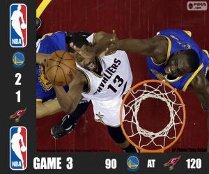 Rompicapo di Finale NBA 2016, 3a partita