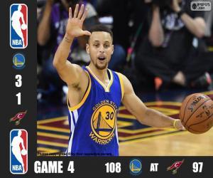 Rompicapo di Finale NBA 2016, 4 partita