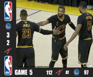 Rompicapo di Finale NBA 2016, 5a partita