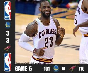 Rompicapo di Finale NBA 2016, gara 6