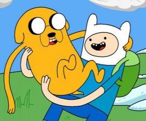 Rompicapo di Finn e Jake, i principali protagonisti dell'Adventure Time