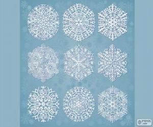 Rompicapo di Fiocchi di neve