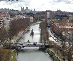 Rompicapo di Fiume Manzanares, Madrid