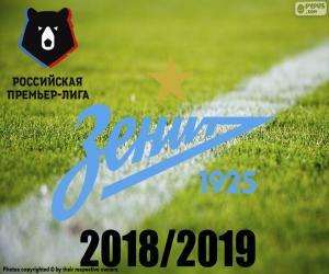 Rompicapo di FK Zenit, campione 2018-2019