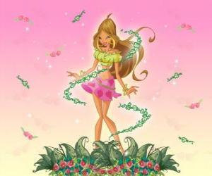 Rompicapo di Flora, Fata dei fiori