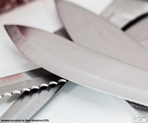 Rompicapo di Foglie di coltelli da cucina