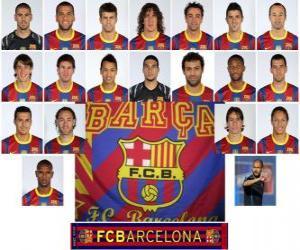 Rompicapo di Formazioni di Futbol Club Barcelona 2.010-11