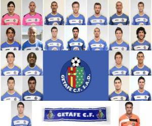 Rompicapo di Formazioni di Getafe Club de Fútbol 2.010-11