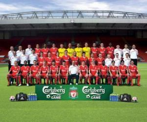 Rompicapo di Formazioni di Liverpool F.C. 2009-10