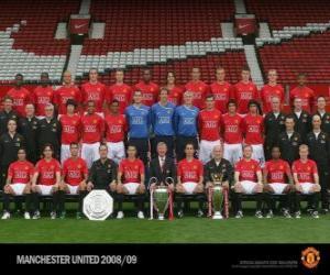 Rompicapo di Formazioni di Manchester United F.C. 2008-09