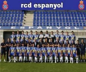 Rompicapo di Formazioni di R.C.D. Espanyol 2008-09