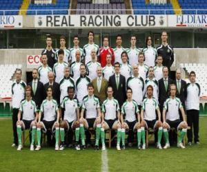 Rompicapo di Formazioni di Racing de Santander 2008-09