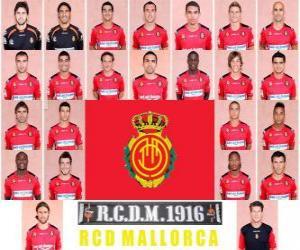 Rompicapo di Formazioni di Real Club Deportivo Mallorca 2.010-11