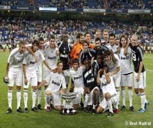 Rompicapo di Formazioni di Real Madrid 2009-10