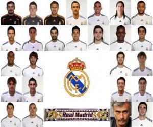 Rompicapo di Formazioni di Real Madrid Club de Fútbol 2.010-11