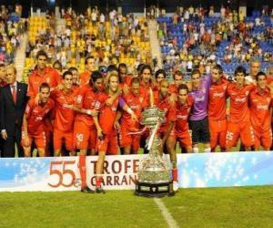 Rompicapo di Formazioni di Sevilla FC 2009-10