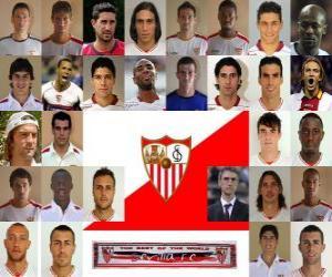 Rompicapo di Formazioni di Sevilla Fútbol Club 2.010-11