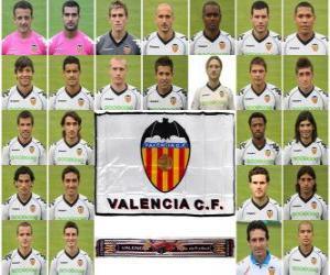 Rompicapo di Formazioni di Valencia Club de Fútbol 2.010-11