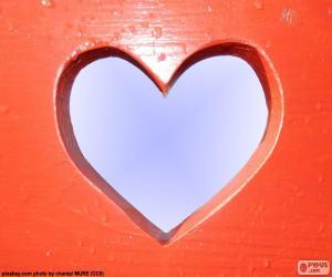 Rompicapo di Foro a forma di cuore