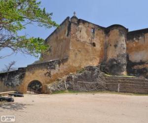Rompicapo di Fort Jesus, la fortezza portoghese situato a Mombasa (Kenya)